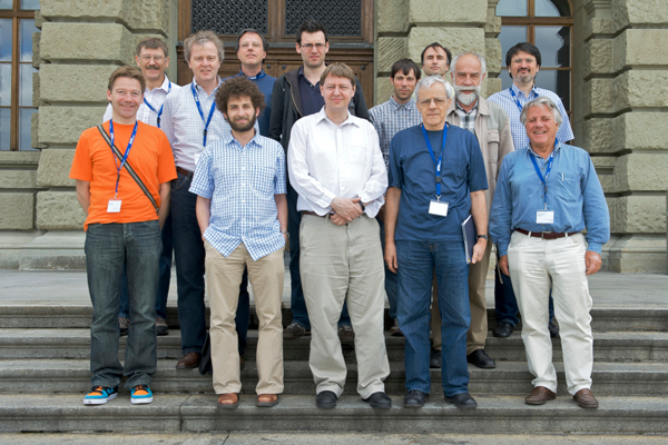Group picture Workshop on Open Systems: Non-Equilibrium Phenomena - Dissipation, Decoherence, Transport